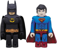 DC Collectibles DC Comics Kubrick Batman and Superman Series Action Figure set 1