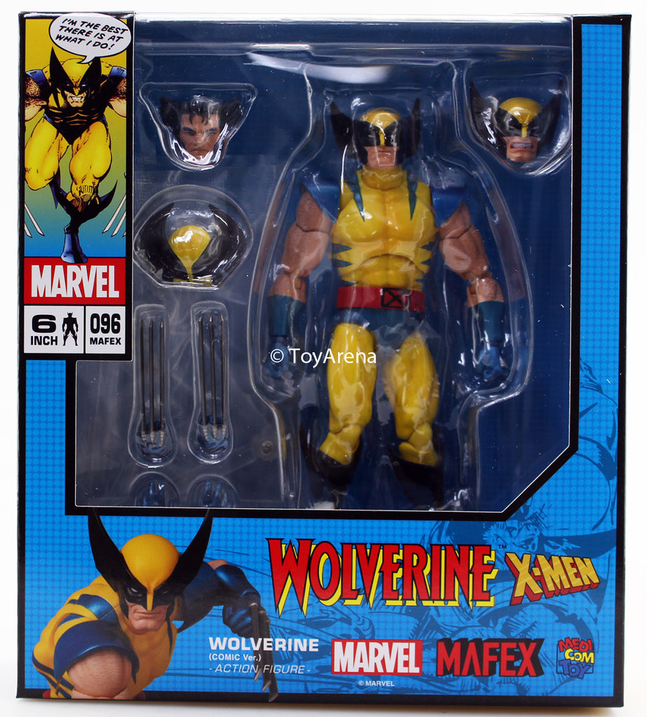Mafex No. 096 Wolverine Comic Ver. Action Figure Medicom