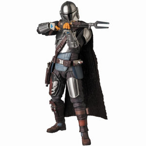Mafex No. 129 Beskar Armor Mandalorian Star Wars The Mandalorian Action Figure
