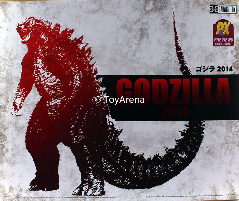 "X-Plus Toho Series 2014 Godzilla Preview Exclusive 12"" Vinyl Figure"