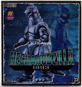 X-Plus Toho Series 1993 Mechagodzilla Godzilla Vs. Mechagodzilla II 12 Inch Previews Exclusive Vinyl Figure