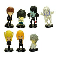 Death Note Neck Fist Mascot Bobble Head Figure  Box Set of 12