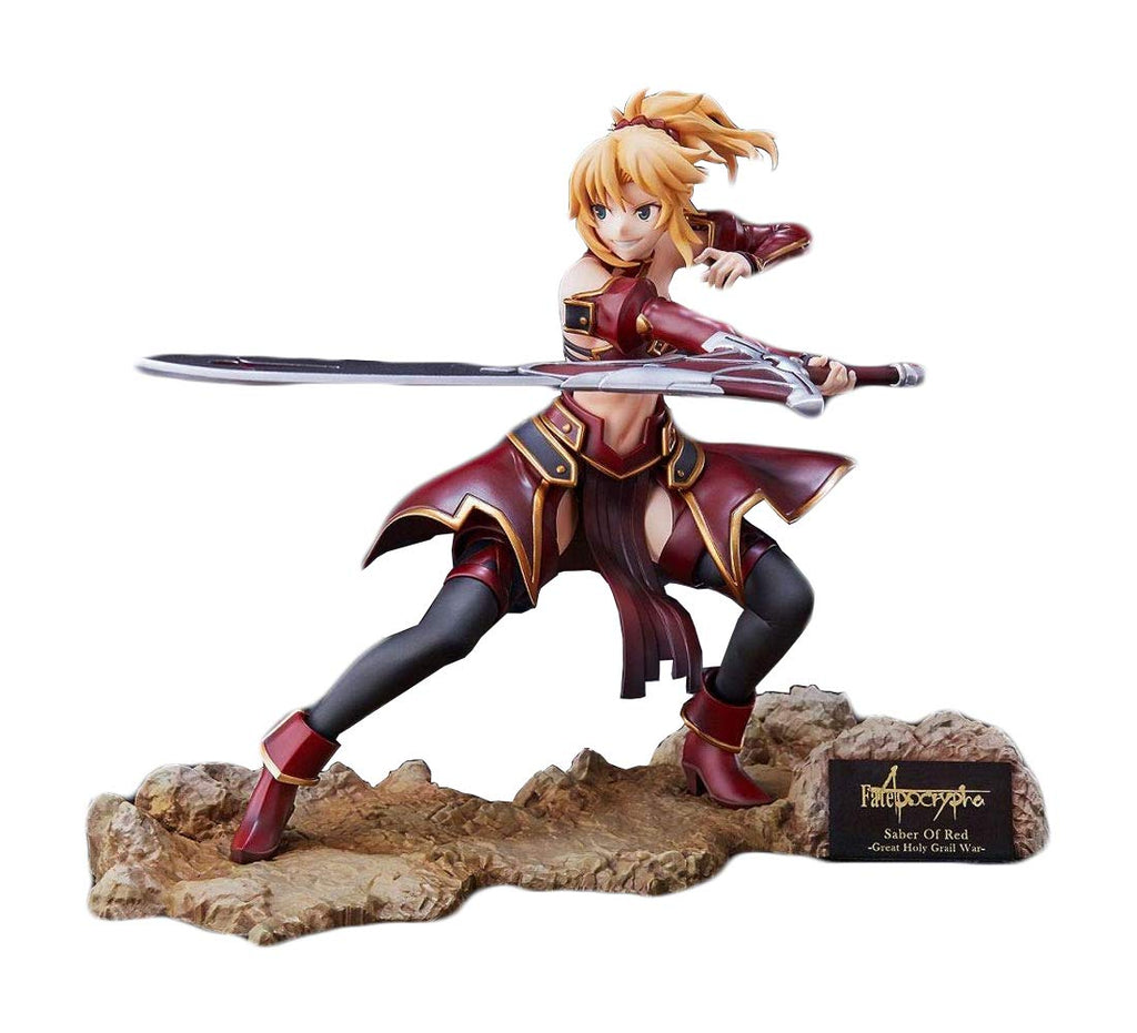 Aniplex 1/7 The Great Holy Grail War Saber of Red Scale Statue Figure 1