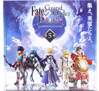 Fate Grand Order Duel Collection Figure Fifth Release Vol 5 Trading Figures Box Set of 6