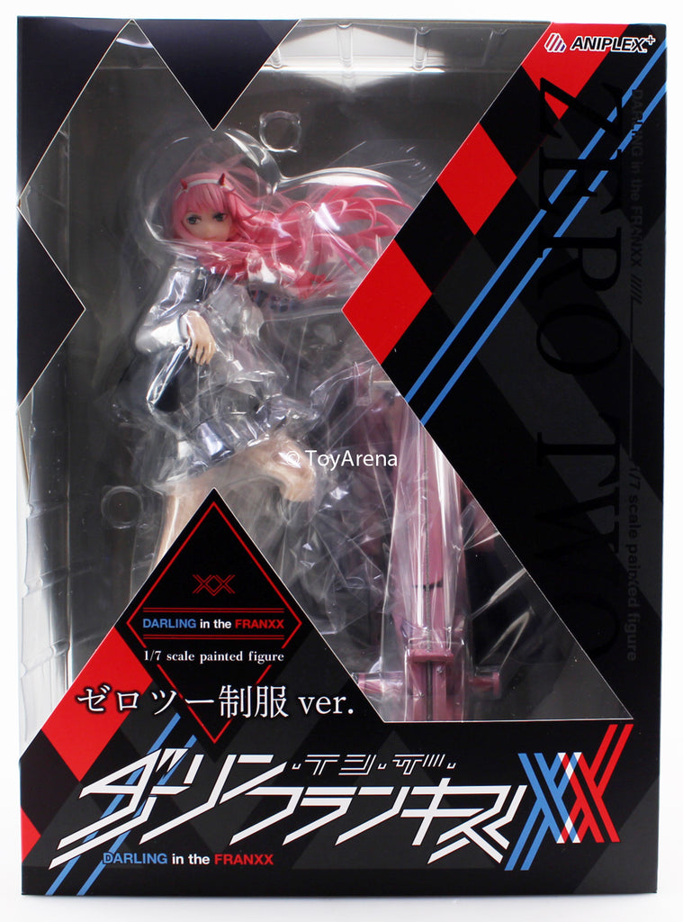 Aniplex 1/7 Darling in the Franxx Zero Two (School Unicorm Ver.) Scale Statue Figure