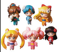 Petit Chara! Sailor Moon Let's Go Festival Version Trading Figures Box Set of 6