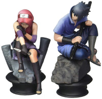 Megahouse Naruto Shippuden Sasuke and Sakura Chesspiece Collection Set of 2 Pieces