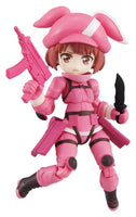 Desktop Army Sword Art Gun Gale Online Trading Figures Box Set of 3 8