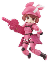 Desktop Army Sword Art Gun Gale Online Trading Figures Box Set of 3 7