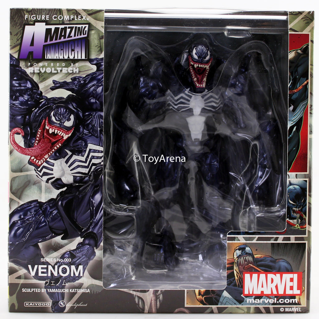 Revoltech Amazing Yamaguchi Series No.003 Marvel Venom Action Figure New No Box
