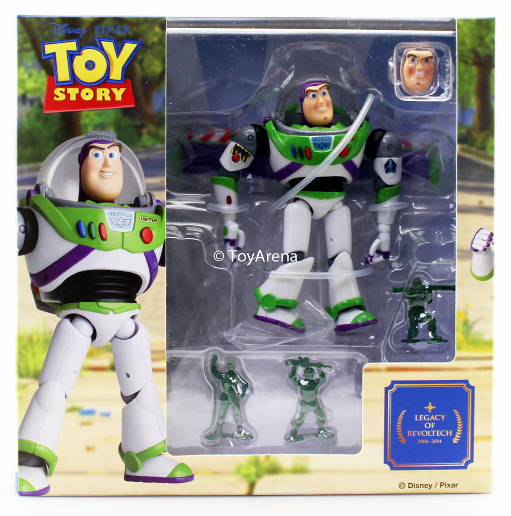 Kaiyodo Legacy of Revoltech LR-046 Toy Story Buzz Lightyear Action Figure