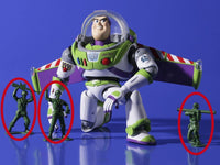 Kaiyodo Legacy of Revoltech LR-046 Toy Story Buzz Lightyear Action Figure 3