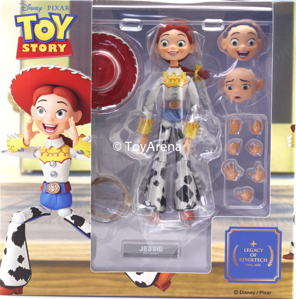 Kaiyodo Legacy of Revoltech LR-057 Toy Story Jessie (Renewed Package Design) Action Figure