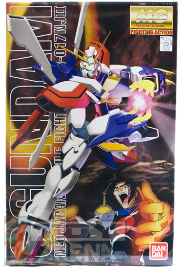 Gundam 1/100 MG G-Gundam GF13-0317NJII God Burning Gundam Neo Japan Model Kit