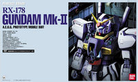 Gundam 1/60 PG RX-178 Gundam Mk-II A.E.U.G. (AEUG) Model Kit Perfect Grade
