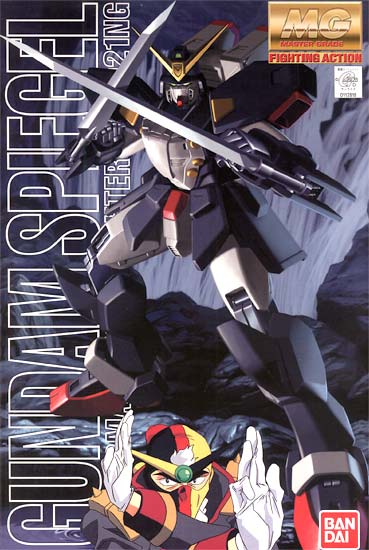 Gundam 1/100 MG G-Gundam Spiegel GF13-021NG Neo Germany Model Kit