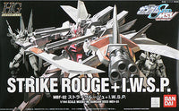 Gundam Seed 1/144 HG MSV #01 Strike Rouge + I.W.S.P. MBF-02 Model Kit