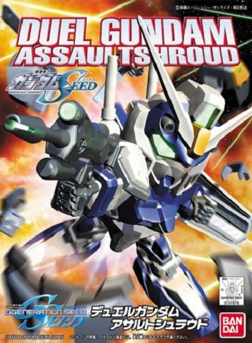 Gundam BB SD #276 Duel Gundam Assault Shroud Gundam Seed Model Kit