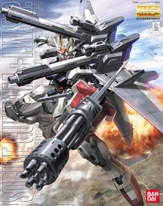Gundam 1/100 MG GAT-X105 Strike Gundam + IWSP Model Kit