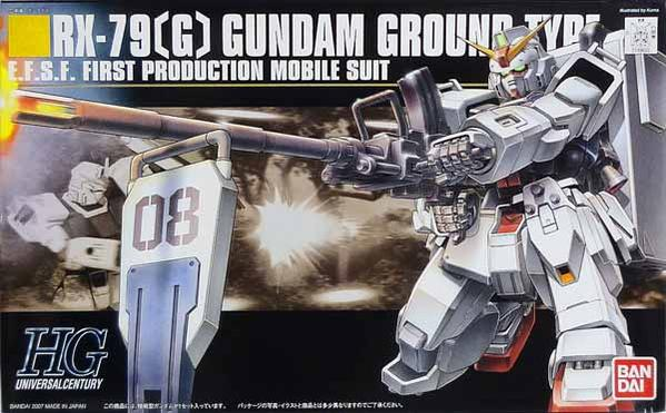 Gundam 08th MS Team 1/144 HGUC #079 RX-79 [G] Gundam Ground Type Model Kit