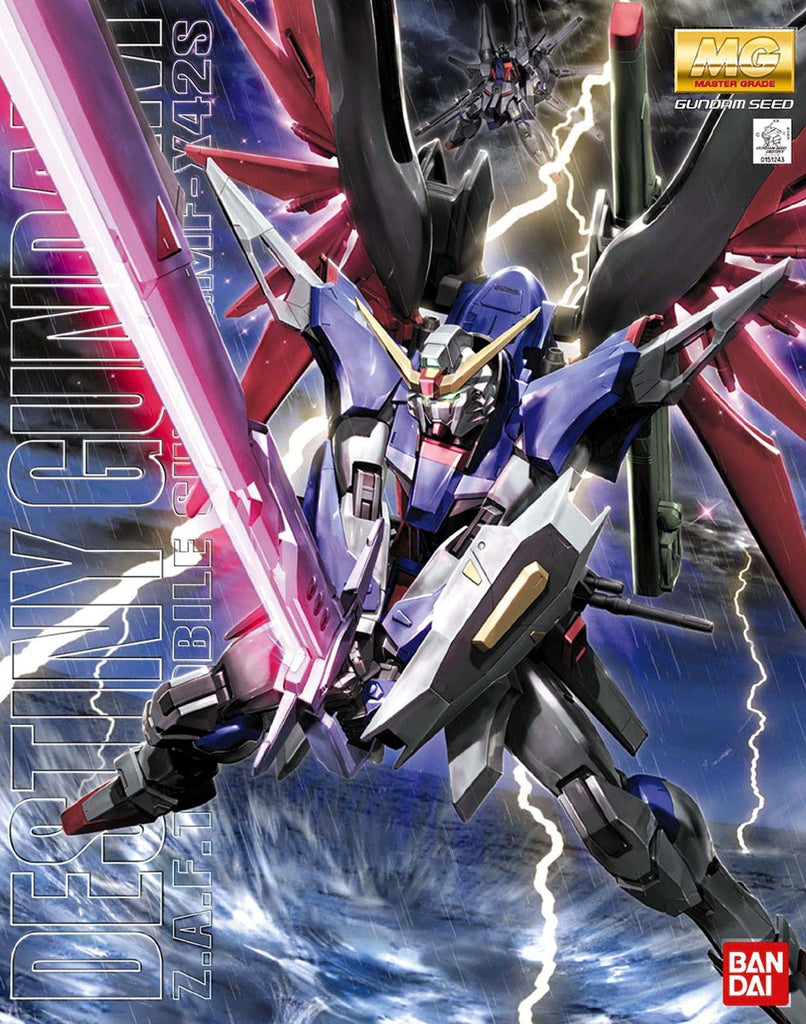 Gundam Seed Destiny 1/100 MG Destiny Gundam ZGMF-X42S Model Kit