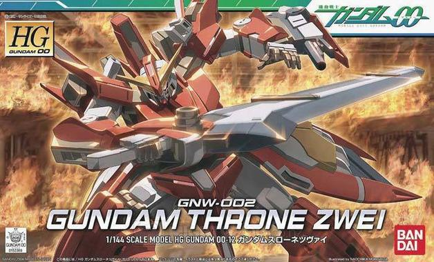 Gundam 00 1/144 HG #12 GNW-002 Gundam Throne Zwei Model Kit