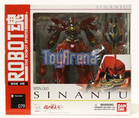 Robot Spirits Damashii #079 MSN-06S Sinanju Gundam Action Figure