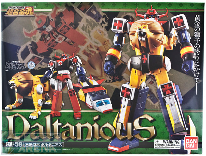Soul of Chogokin SOC GX-59 Daltanious Action Figure