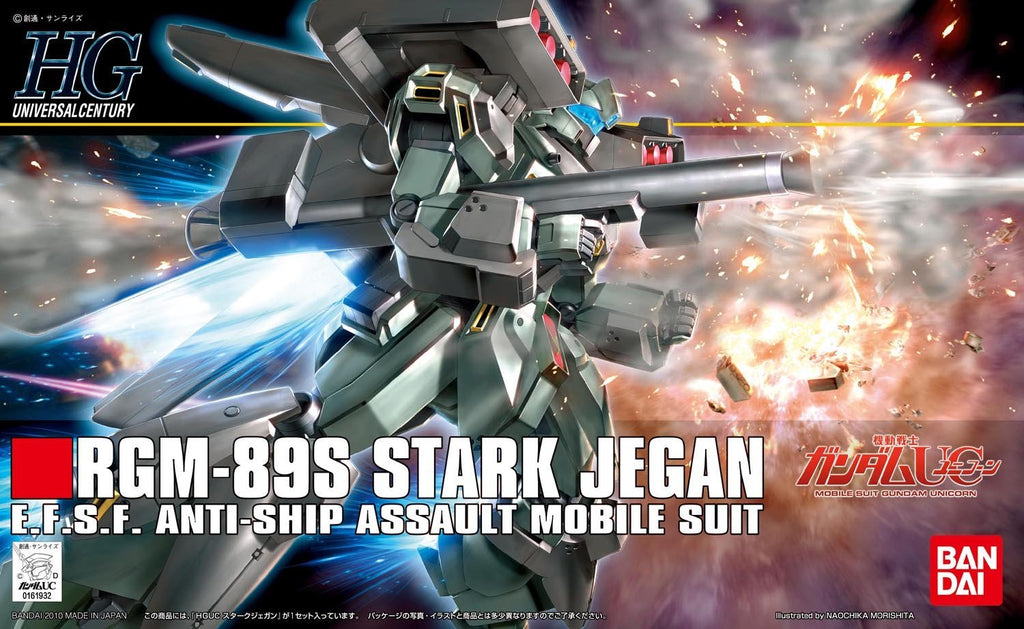Gundam Unicorn 1/144 HGUC #104 RGM-89S Stark Jegan E.F.S.F. Mobile Suit Model Kit