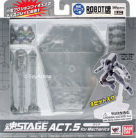 Tamashii Stage Act 5 Mechanics Clear Stand