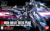 Gundam 1/144 HGUC #115 MSX-001A1 Delta Plus Model Kit