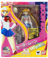S.H. Figuarts Sailor Moon with Luna Action Figure 1st Edition W/ Bonus Face