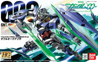Gundam 1/144 HG 00 #66 Gundam 00 Awakening of the Trailblazer GNT-0000 00 Qan[T] Quanta Model Kit 1