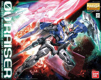 Gundam 1/100 MG Gundam OO GN-0000+GNR-010 00 Raiser Celestial Being Model Kit