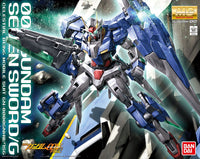 Gundam 00 1/100 MG OO Gundam Seven Sword/G GN-0000GNHW/7SG Celestial Being Model Kit