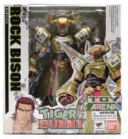 S.H. Figuarts Rock Bison Tiger & Bunny Action Figure