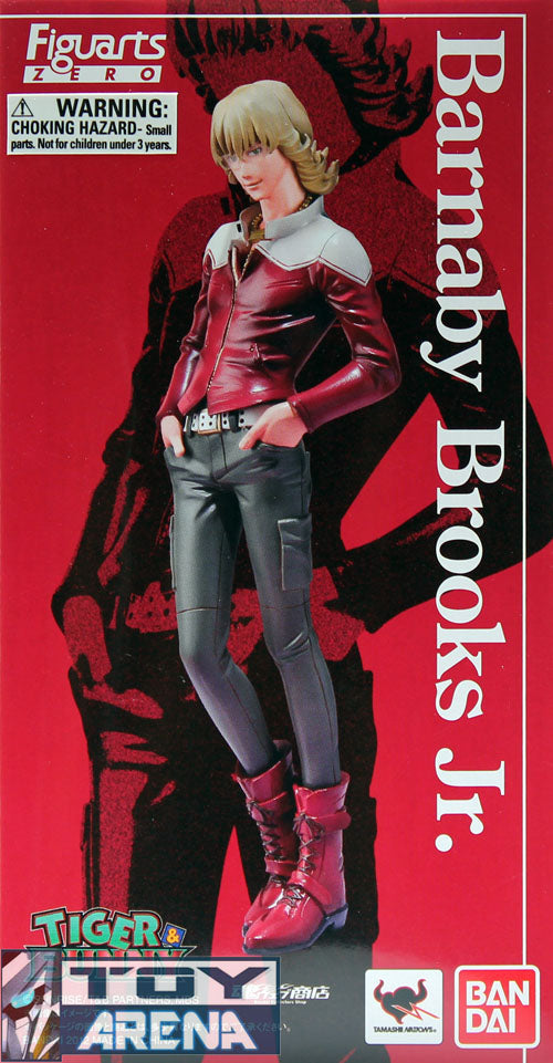 Figuarts Zero Tiger & Bunny - Barnaby Brooks Jr. Tamashii Nation Web Shop Exclusive