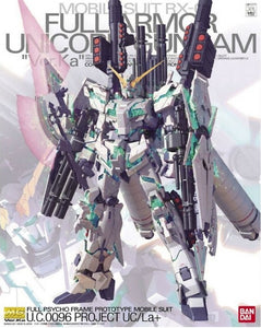 Gundam 1/100 MG Gundam Unicorn RX-0 Full Armor Unicorn Gundam Ver.Ka Model Kit 1