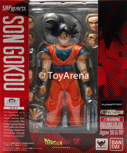 S.H. Figuarts Dragonball Z Normal Ver. Son Goku Action Figure