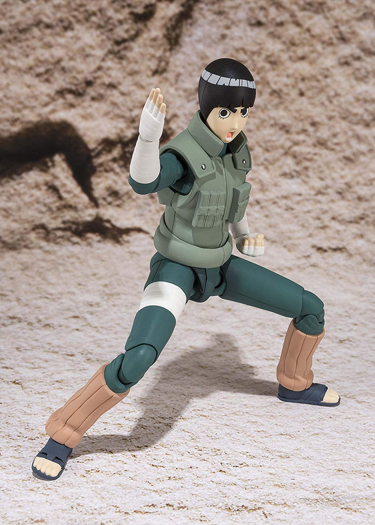 S.H. Figuarts Naruto Rock Lee Action Figure 1
