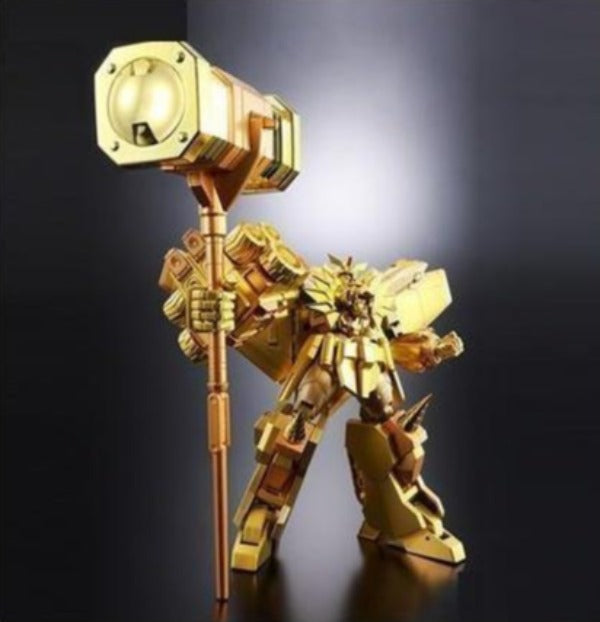 Super Robot Chogokin Brave King Gaogaigar Golden God of Destruction Ver. Limited Tamashii Show Exclusive