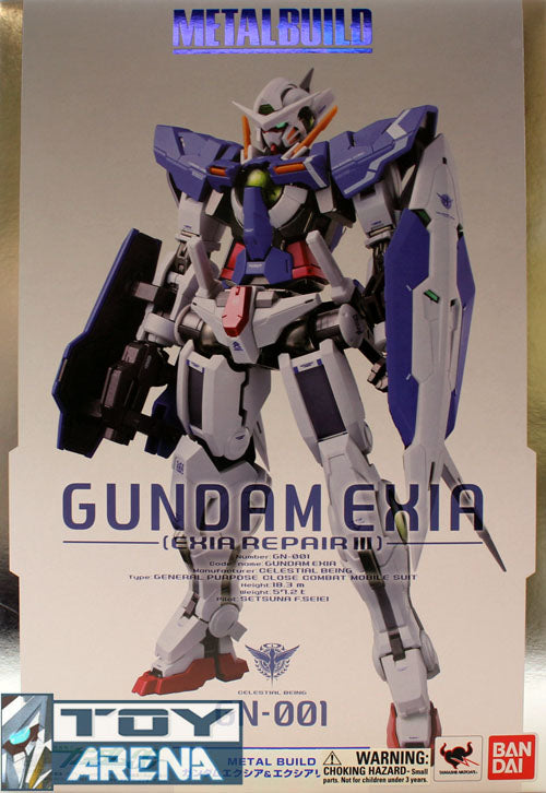 Gundam Metal Build Gundam 00 Gundam Exia / Gundam Exia Repair III Figure