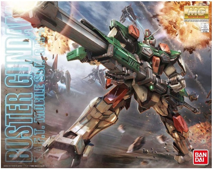 Gundam 1/100 MG GAT-X103 Buster Gundam Model Kit