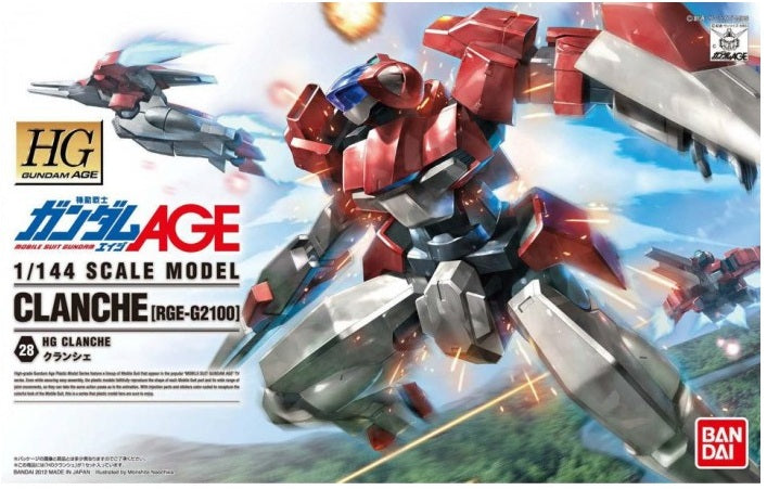 Gundam AGE 1/144 HG #28 Clanche [RGE-G2100] High Grade Model Kit