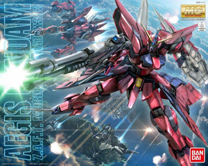 Gundam 1/100 MG Gundam Seed Destiny Aegis GAT-X303 Gundam Model Kit 1