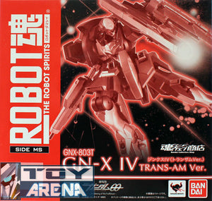 Robot Spirits Damashii SP GNX-803T GNX IV Trans-AM Action Figure Exclusive