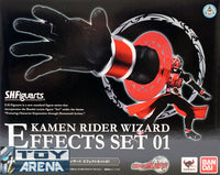 S.H. Figuarts Masked Kamen Rider Wizard Effect Set 01 Bandai Exclusive Action Figure