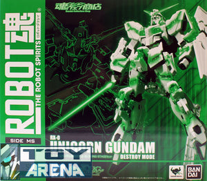 Robot Spirits Damashii SP Gundam Unicorn Awakening Type & Glowing Stage Set Bandai Exclusive