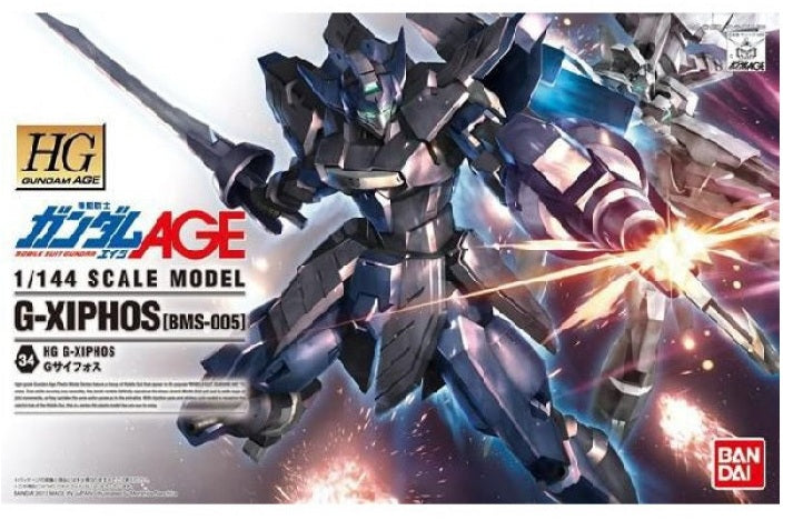 Gundam AGE 1/144 HG #34 G-Xiphos [BMS-005] High Grade Model Kit