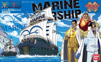 One Piece Grand Ship Collection #08 Marine Warship Model Kit